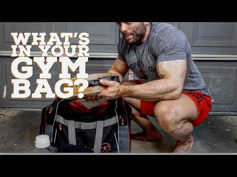 WHAT'S IN YOUR GYM BAG? POWERLIFTING EDITION