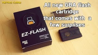 EZ Flash Omega Gameboy Advance Flash Cartridge with a few surprises - 4K