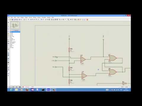 6 Create a Proteus device and add simulation model - YouTube