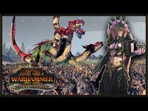 Hellebron's Invasion Of Norsca - Total War: Warhammer 2 Gameplay |