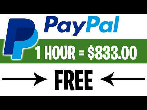 NEW App Pays $833.00+ in FREE PayPal Money! (Earn PayPal Money Fast)