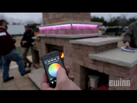 Creative Outdoor Lighting Solutions - SlimFlex LED Tape Light