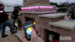 Creative Outdoor Lighting Solutions - SlimFlex LED Tape Light