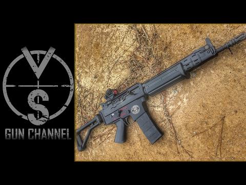 FN FNC (Rare) VS M16 (Full Auto) Machine Guns