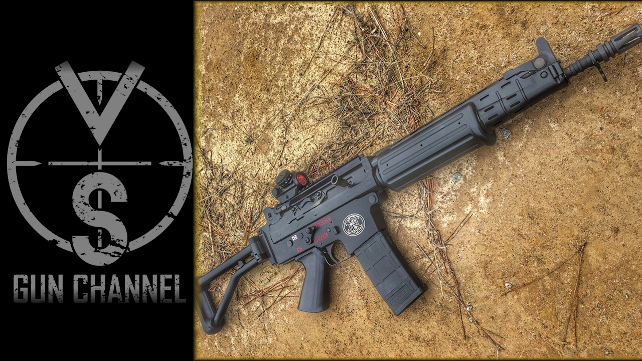 fn fnc rare vs m16 full auto machine guns youtube