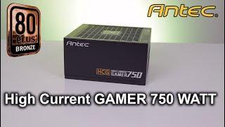 Antec High Current Gamer 750W  - test zasilacza.