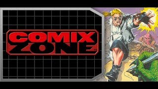 Comix Zone - Прохождение игры (SEGA Mega Drive 16 Bit) Стрим №1