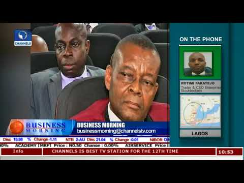 Trading Oscar Onyema On The Floor As CIS Inducts NSE CEO |Business Morning|