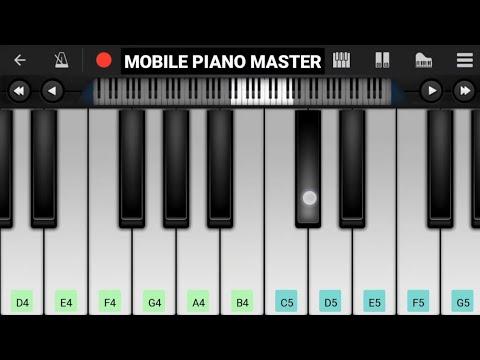 Ek Mulakat Zaroori Hai Sanam Piano || Sirf Tum || Mobile Perfect Piano Tutorial