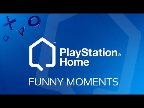 Playstation Home Gameplay - Trolling/Funny Moments [ W/ FabiogcXD ]