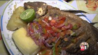 pescados con colada morada