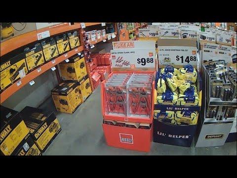 Черная Пятница Магазин Home Depot США ШОК! (Black Friday 2015) ч.1