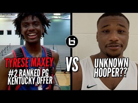 Thumbnail: TYRESE MAXEY VS UNKNOWN HOOPER!!! Lit Game in Season Opener!