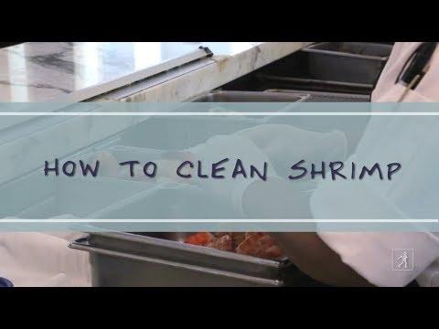 Clean Fresh Shrimp in 3 Simple Steps