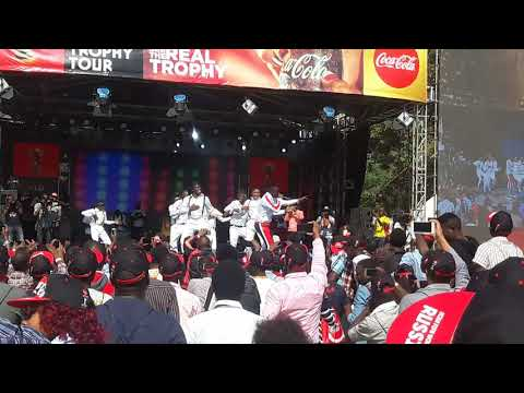 Willy Paul Performing Live at KICC