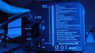 Test & Check von der Eurolite N 19 Nebelmaschiene LA-CHECK