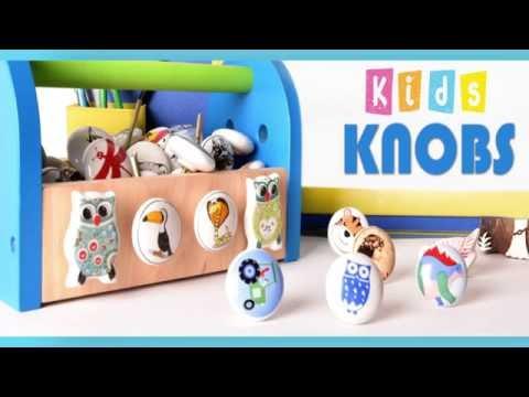 Kids Room Knobs - Kids Room Decoration - Indianshelf.com