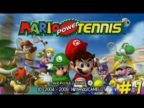 Mario Power Tennis! Part 1 - YoVideogames