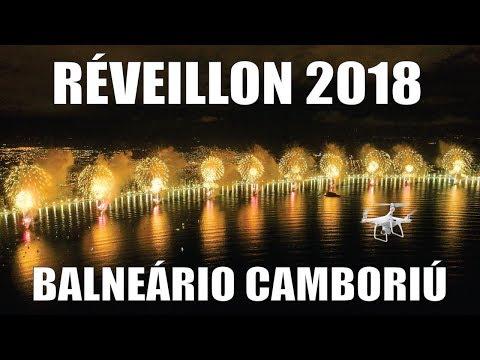 RÉVEILLON 2018 em Balneário Camboriú – JC Drones em 4K