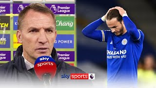 We lacked concentration Rodgers reacts to Newcastle denting Leicester s top 4 charge