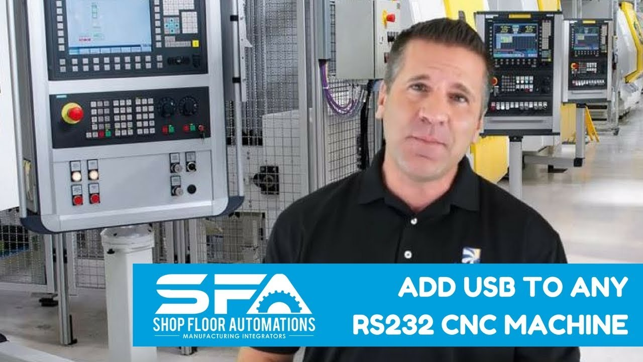 Add USB to Any RS232 CNC Machine Fanuc Rs To Usb Wiring Diagram on