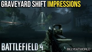Battlefield 4 (PS4 ) - Night Operations: Graveyard Shift - First Impressions (Unedited Gameplay)