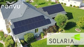 SOLARIA Solar Panels Installed on Home | RENVU