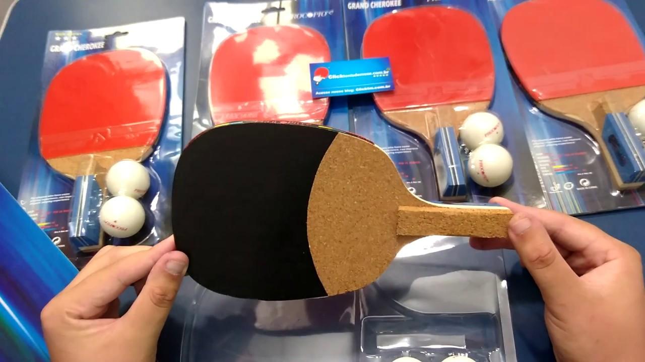 0bc2c844410 Raquete Caneta Japonesa Ótima para Iniciantes no Tênis de Mesa - YouTube