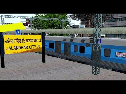 12030/Amritsar - New Delhi Swarna Shatabdi Express From Amritsar    IR In MSTS Open Rail