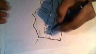 draw de mi pais ecuador -quito