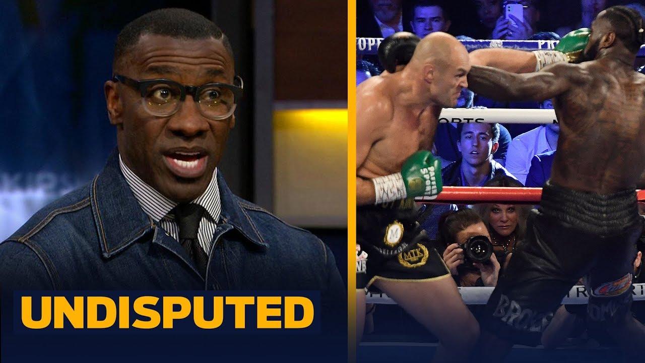 Tyson Fury made title fight vs Deontay Wilder look easy — Shannon Sharpe | PBC