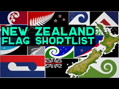 New Zealand Flag Short-list and First Referendum Results