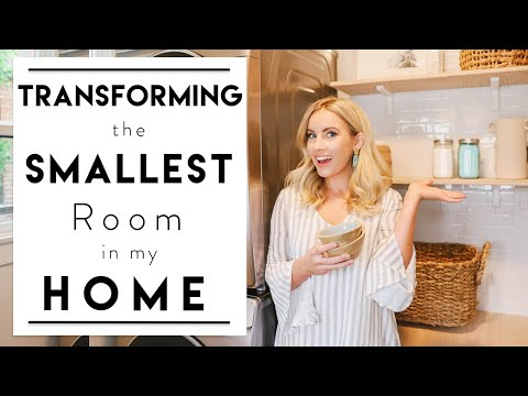 INTERIOR DESIGN | How to Decorate & Organize a Small Room | House to Home Laundry Room