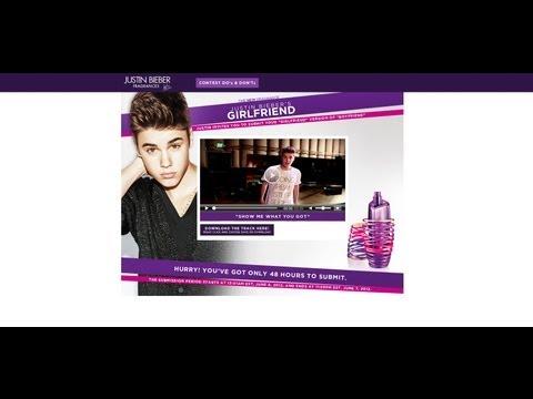 Justin Bieber's Girlfriend Perfume Contest