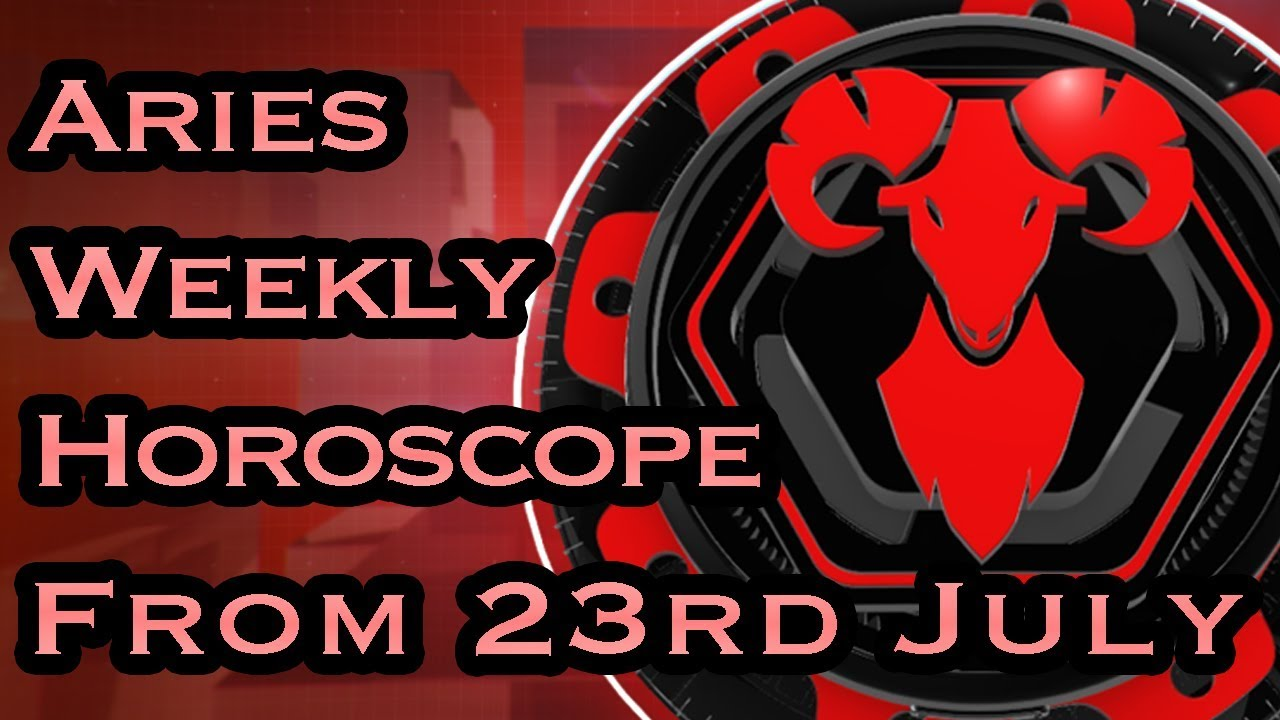 Aries Horoscope - Aries Weekly Horoscope From 23rd July 2018 In Hindi