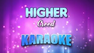 Creed - Higher (Karaoke version with Lyrics)