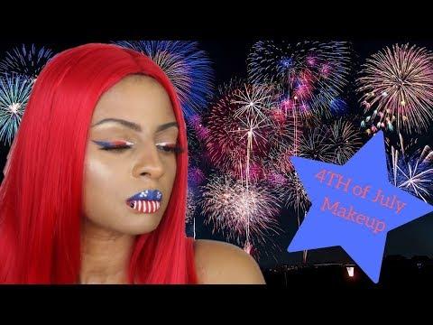 Festive 4th Of July Makeup 🎆 thumbnail