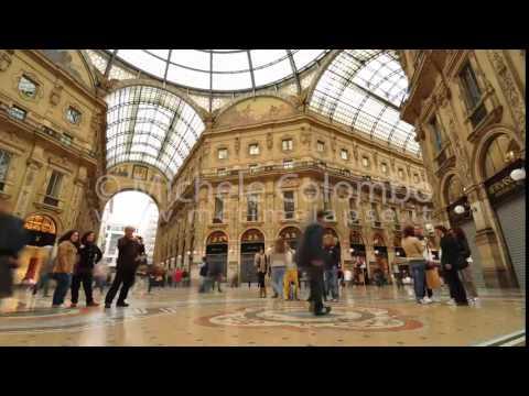 0033 - time lapse - People in Galleria Vittorio Emanuele, Milan