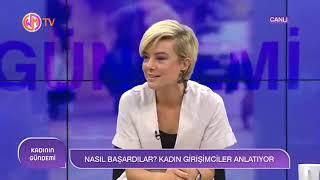 Gambar cover Özgül Topkan Koruyan, Dilşad Çelebi, Sinem Sonuvar   Woman TV Kadının Gündemi  19 Haziran 2019