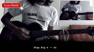 Interpol Mountain Child Cover Tutorial Guitar Chords Tab
