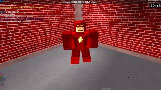 Roblox Superhero life 2-How to make The flash Cw
