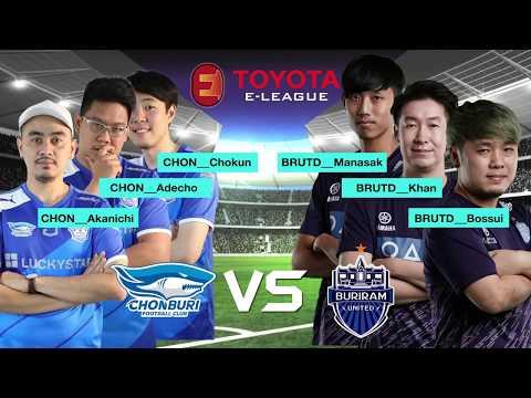 TOYOTA ELEAGUE l Match Highlight l Chonburi FC VS Buriram United