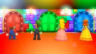 Mario Party 9 MiniGames - Mario Vs Luigi Vs Daisy Vs Peach (Master Cpu)