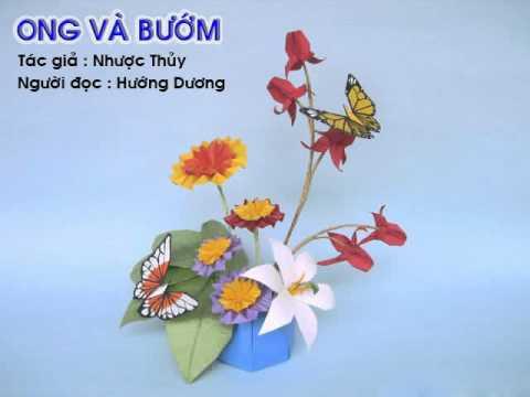 Ong và bướm  - Creat by Đinh Nhung