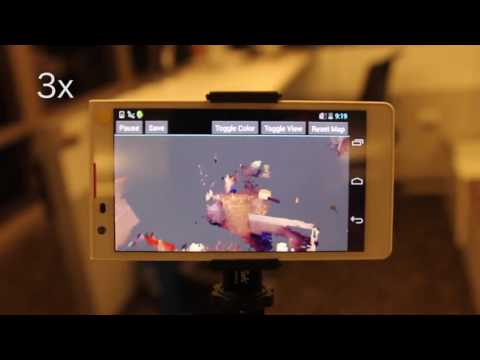 Project Tango   real time 3D reconstruction on mobile phone