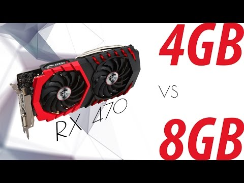 RX 470 4GB Vs 8 GB For Ethereum Mining?