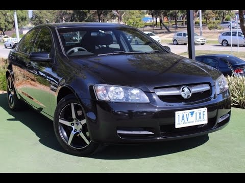 B5096 2008 Holden Commodore Omega Ve Auto My09 Review Youtube