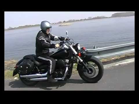 Honda Shadow 750 Black Spirit Vt750c2b Vojka Video 3 Avi Youtube