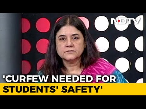 Why Hostels Need Early Curfew: 'Hormonal Outbursts' Says Maneka Gandhi