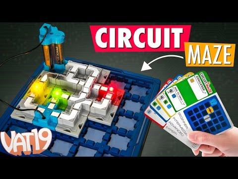 Circuit Maze Logic Game